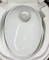Twusch 7.0 Set Porcelain insert for Thetford Toilets C500