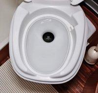 Twusch 1.0 porseleinen inzetstuk voor de Thetford C2/C3/C4 toiletten